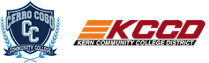 Cerro Coso and Kern Community College District Logos